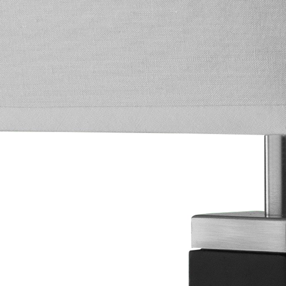 Бра Arte Lamp Waverley A8880AP-1BK, 1xE14x40W, черный, белый, дерево, текстиль - фото 3