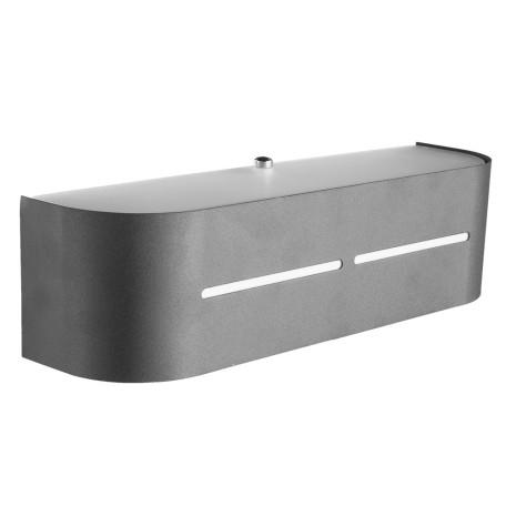 Настенный светильник Arte Lamp Cosmopolitan A7210AP-1BK, 1xE14x40W, черный, металл, стекло