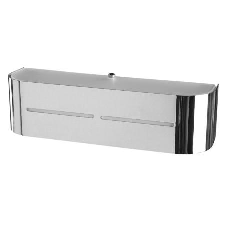 Настенный светильник Arte Lamp Cosmopolitan A7210AP-1CC, 1xE14x40W, хром, металл, стекло