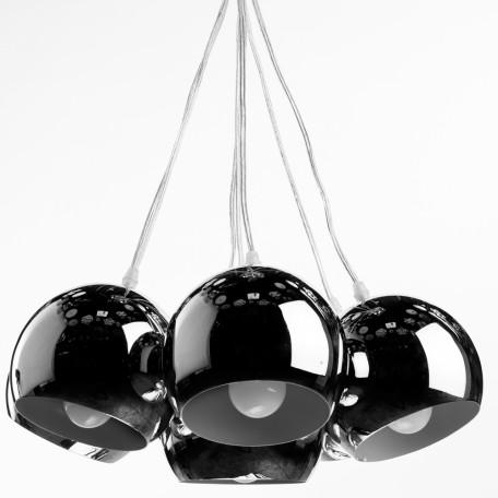 Подвесная люстра Arte Lamp Rondo A8072SP-7CC, 7xE27x40W, хром, металл - миниатюра 1