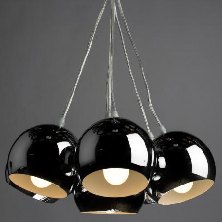 Подвесная люстра Arte Lamp Rondo A8072SP-7CC, 7xE27x40W, хром, металл - миниатюра 2