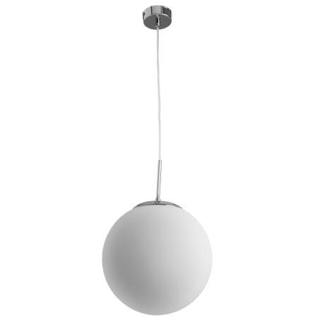 Подвесной светильник Arte Lamp Volare A1561SP-1CC, 1xE27x40W, хром, белый, металл, стекло