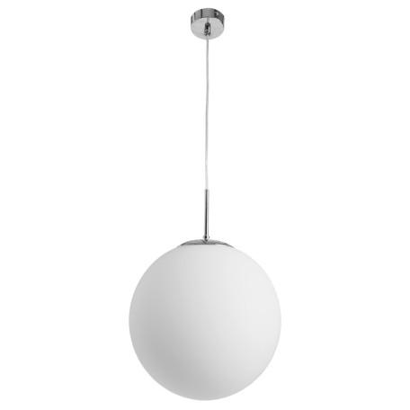 Подвесной светильник Arte Lamp Volare A1562SP-1CC, 1xE27x40W, хром, белый, металл, стекло