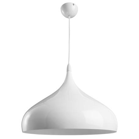 Подвесной светильник Arte Lamp Helmet A3266SP-1WH, 1xE27x40W, белый, металл