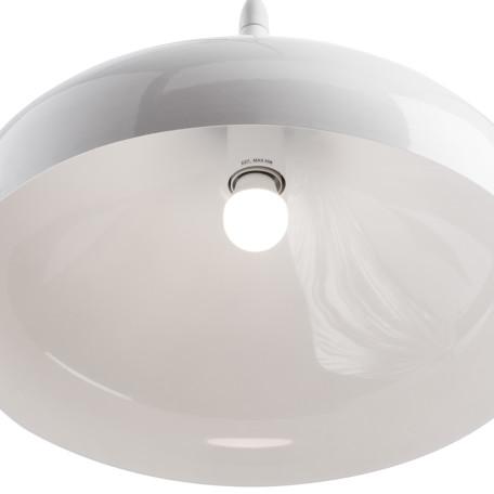 Подвесной светильник Arte Lamp Helmet A3266SP-1WH, 1xE27x40W, белый, металл - миниатюра 3