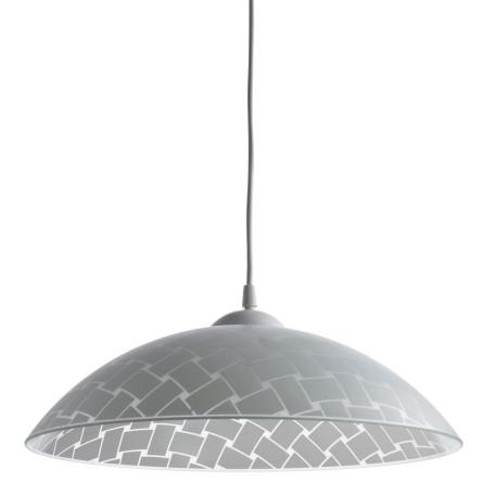 Подвесной светильник Arte Lamp Cucina A3421SP-1WH, 1xE27x60W, белый, пластик, стекло