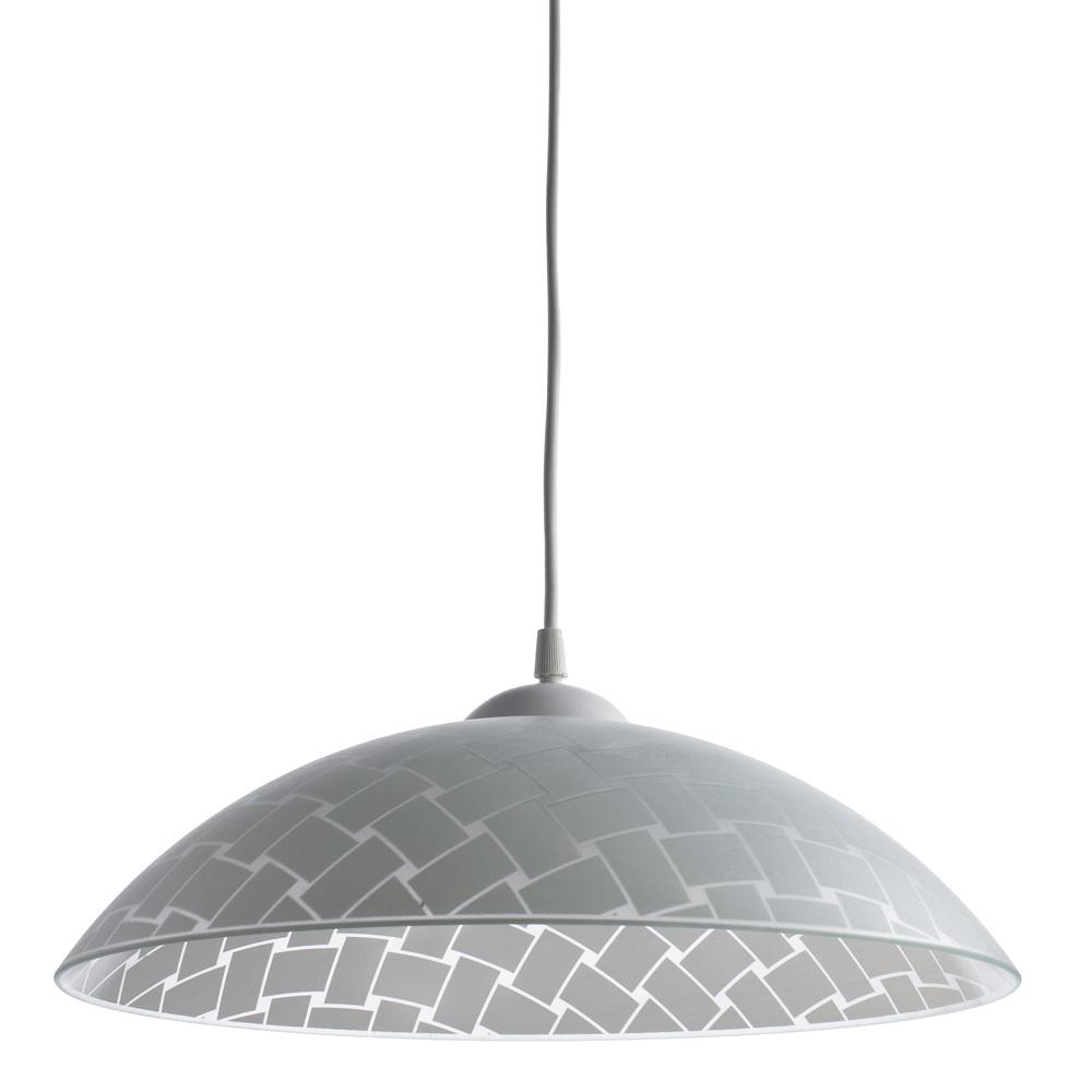 Подвесной светильник Arte Lamp Cucina A3421SP-1WH, 1xE27x60W, белый, пластик, стекло - фото 1