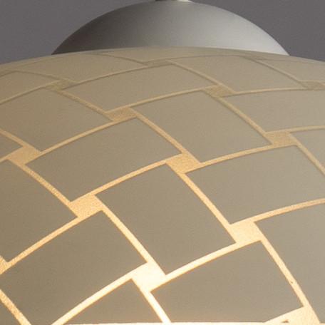 Подвесной светильник Arte Lamp Cucina A3421SP-1WH, 1xE27x60W, белый, пластик, стекло - миниатюра 3