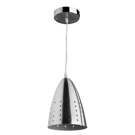 Подвесной светильник Arte Lamp Lucido A4081SP-1SS, 1xE27x40W, серебро, металл