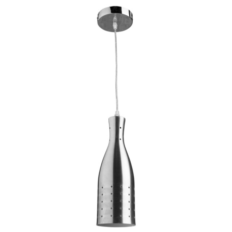 Подвесной светильник Arte Lamp Lucido A4082SP-1SS, 1xE27x40W, серебро, металл