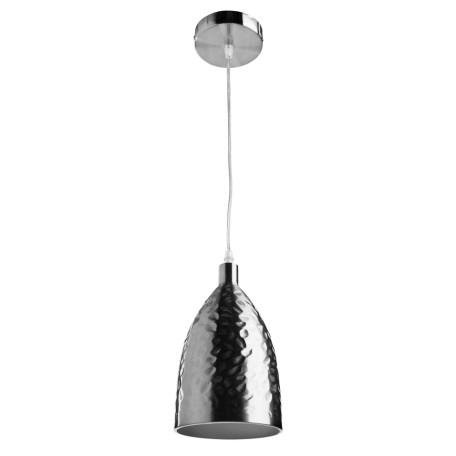 Подвесной светильник Arte Lamp Lucido A4083SP-1SS, 1xE27x40W, серебро, металл