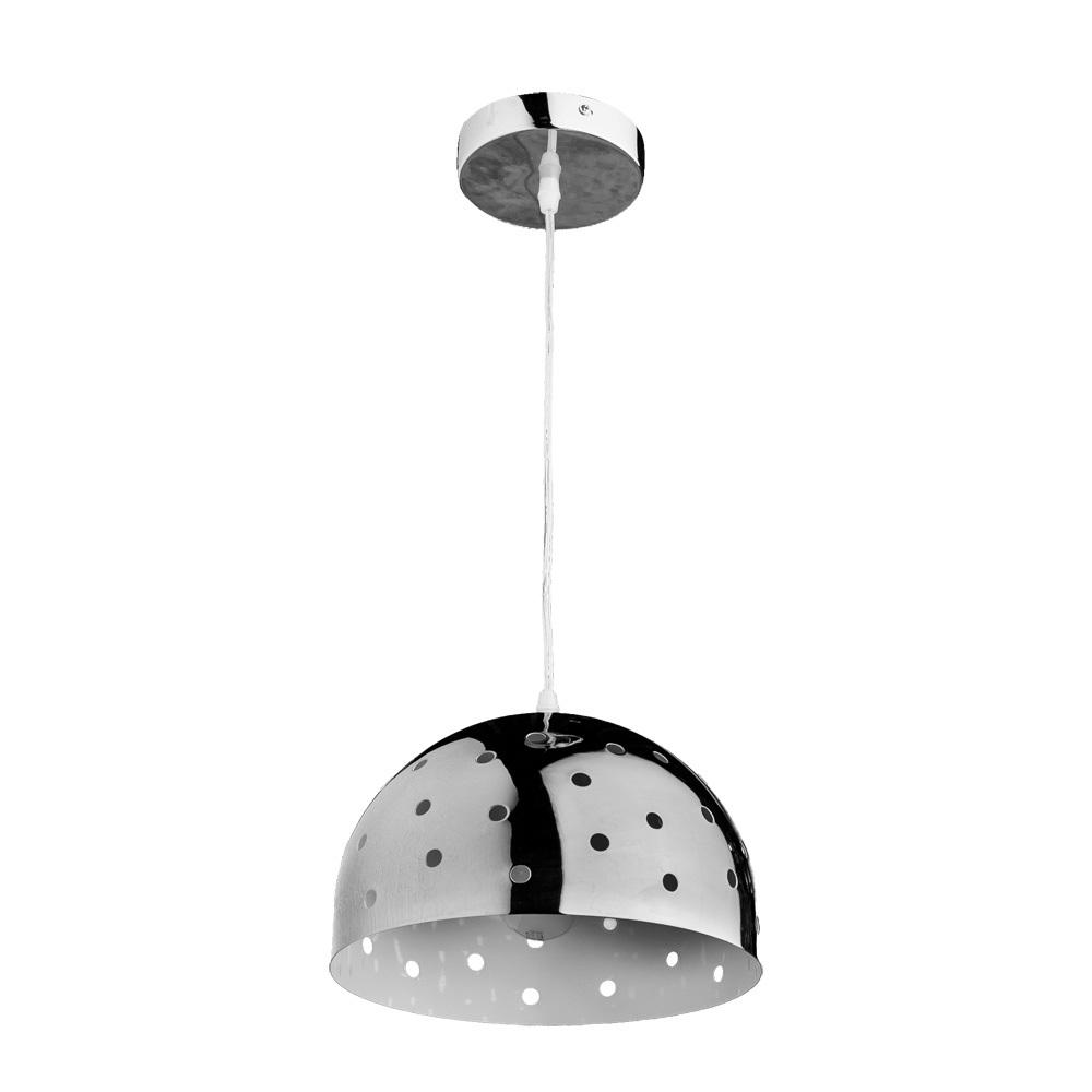 Подвесной светильник Arte Lamp Lucido A4084SP-1CC, 1xE27x40W, хром, металл - фото 1