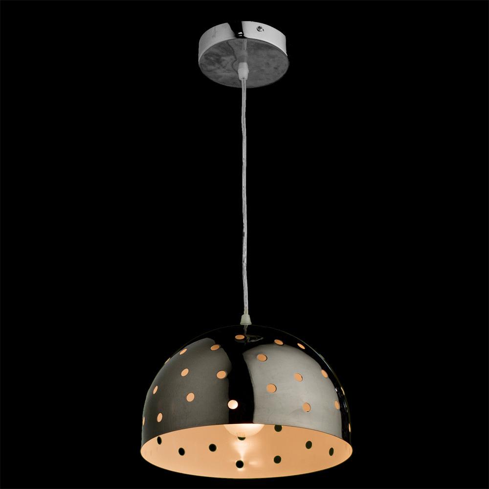 Подвесной светильник Arte Lamp Lucido A4084SP-1CC, 1xE27x40W, хром, металл - фото 2
