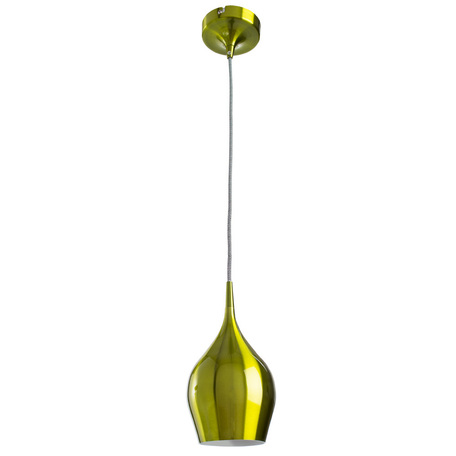 Подвесной светильник Arte Lamp Vibrant A6412SP-1GR, 1xE14x40W, зеленый, металл