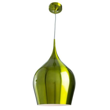 Подвесной светильник Arte Lamp Vibrant A6426SP-1GR, 1xE27x60W, зеленый, металл