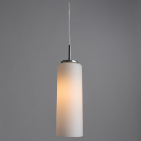 Подвесной светильник Arte Lamp Sphere A6710SP-1WH, 1xE27x100W, белый, металл, стекло - миниатюра 2