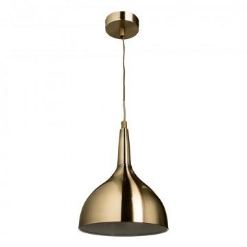 Подвесной светильник Arte Lamp Helmet A9077SP-1AB, 1xE27x60W, бронза, металл