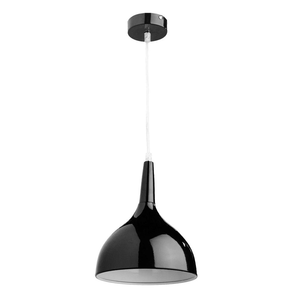 Подвесной светильник Arte Lamp Helmet A9077SP-1BK, 1xE27x60W, черный, металл - фото 1