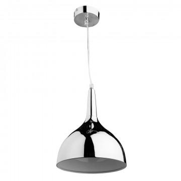 Подвесной светильник Arte Lamp Helmet A9077SP-1CC, 1xE27x60W, хром, металл