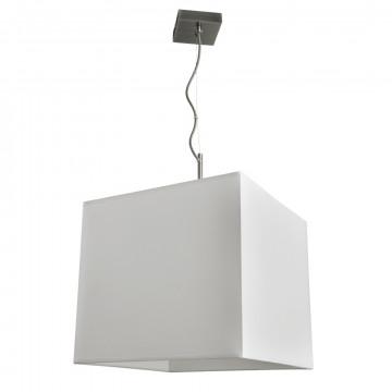 Подвесной светильник Arte Lamp Hall A9247SP-1AB, 1xE27x60W, бронза, белый, металл, текстиль