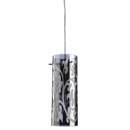 Подвесной светильник Arte Lamp Aries A9328SP-1CC, 1xE27x60W, хром, металл, стекло