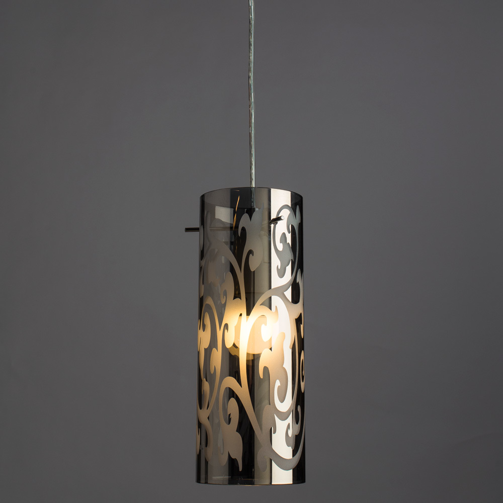 Подвесной светильник Arte Lamp Aries A9328SP-1CC, 1xE27x60W, хром, металл, стекло - фото 2