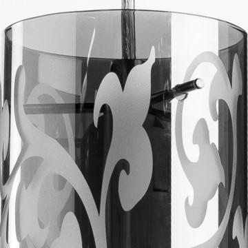 Подвесной светильник Arte Lamp Aries A9328SP-1CC, 1xE27x60W, хром, металл, стекло - миниатюра 3