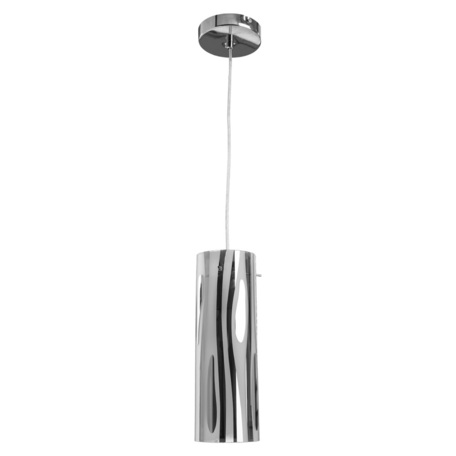 Подвесной светильник Arte Lamp Aries A9329SP-1CC, 1xE27x60W, хром, металл, стекло