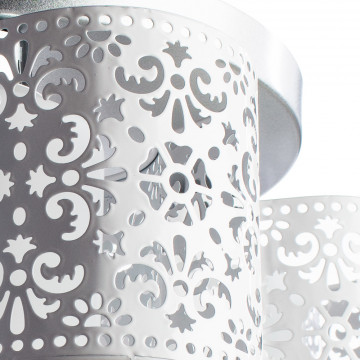 Потолочная люстра Arte Lamp Helen A8348PL-3WH, 3xE27x40W, серебро, белый, металл - миниатюра 3