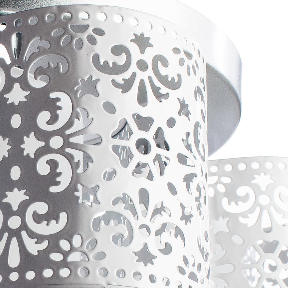 Потолочная люстра Arte Lamp Helen A8348PL-3WH, 3xE27x40W, серебро, белый, металл - фото 3
