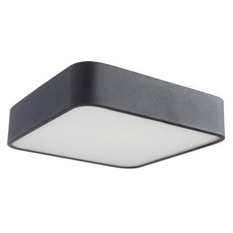 Потолочный светильник Arte Lamp Cosmopolitan A7210PL-2BK, 2xE27x60W, черный, черно-белый, металл со стеклом, стекло