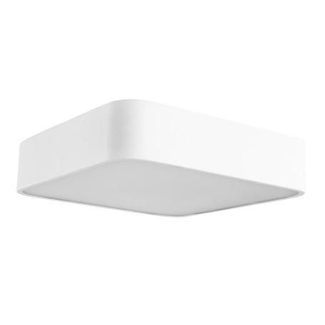 Потолочный светильник Arte Lamp Cosmopolitan A7210PL-2WH, 2xE27x60W, белый, металл со стеклом, стекло