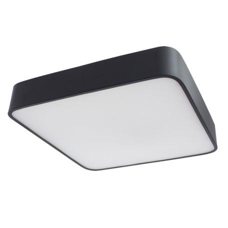 Потолочный светильник Arte Lamp Cosmopolitan A7210PL-3BK, 3xE27x60W, черный, черно-белый, металл со стеклом, стекло