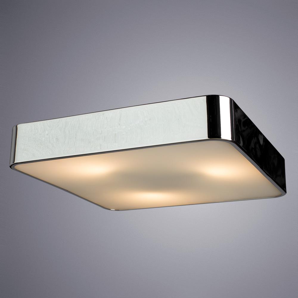 Потолочный светильник Arte Lamp Cosmopolitan A7210PL-3CC, 3xE27x60W, хром, металл со стеклом, стекло - фото 2