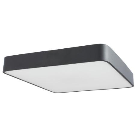 Потолочный светильник Arte Lamp Cosmopolitan A7210PL-4BK, 4xE27x60W, черный, металл со стеклом, стекло