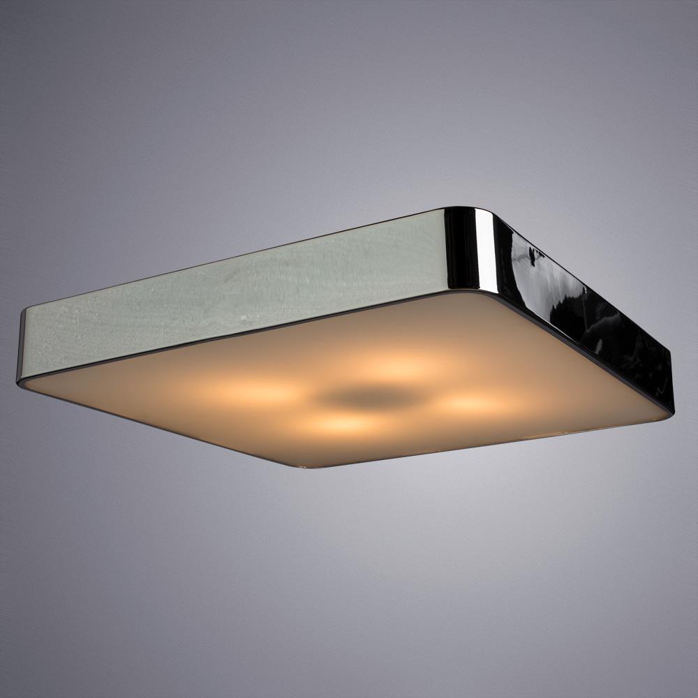 Потолочный светильник Arte Lamp Cosmopolitan A7210PL-4CC, 4xE27x60W, хром, металл со стеклом, стекло - фото 2