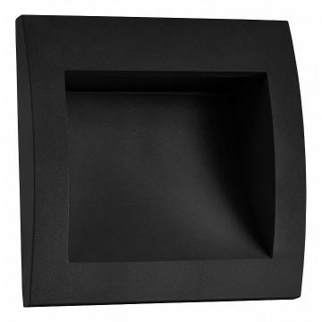 Встраиваемый настенный светодиодный светильник Lightstar Estra 383672, IP55, LED 5W 3000K (теплый)