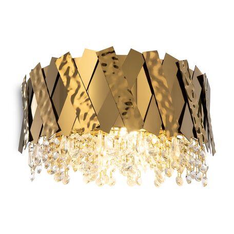 Светильник Maytoni Artistico MOD017WL-02BS, 2xE14x40W, латунь, прозрачный, металл, стекло