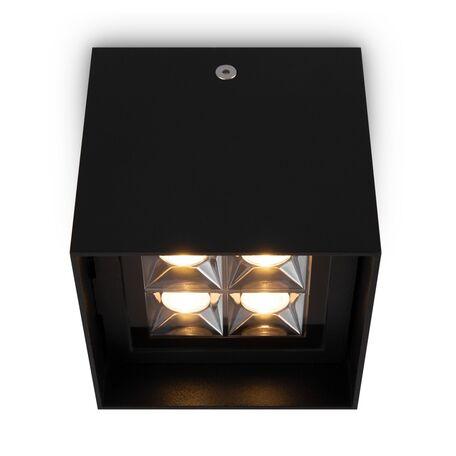 Светодиодный светильник Maytoni Berg O045CL-L2B3K, IP65, LED 12W 3000K 600lm CRI80, черный, металл