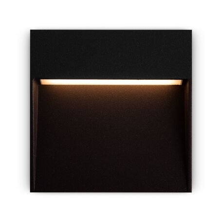 Светодиодный светильник Maytoni Mane O047SL-L4B3K, IP54, LED 4W 3000K 150lm CRI80, черный, металл, пластик