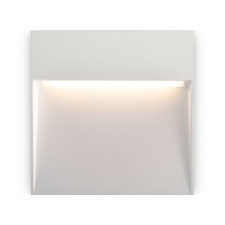 Светодиодный светильник Maytoni Mane O047SL-L4W3K, IP54, LED 4W 3000K 150lm CRI80, белый, металл, пластик