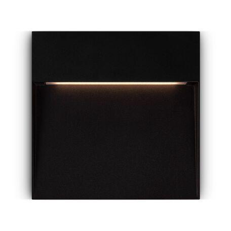 Светодиодный светильник Maytoni Mane O047SL-L7B3K, IP54, LED 7W 3000K 350lm CRI80, черный, металл