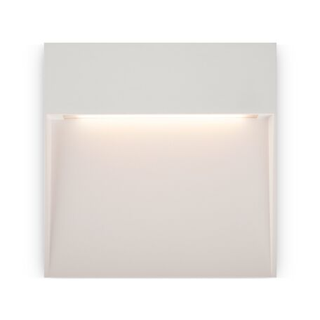 Светодиодный светильник Maytoni Mane O047SL-L7W3K, IP54, LED 7W 3000K 350lm CRI80, белый, металл, пластик