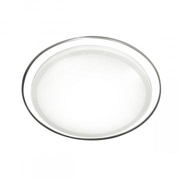 Потолочный светодиодный светильник Sonex Liga 2011/D, IP43, LED 48W 2360lm, белый, металл, пластик