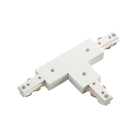T-образный соединитель для шинопровода Novotech Port 135010, белый, пластик