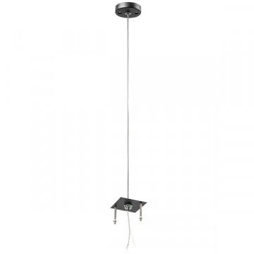 Основание подвесного светильника Lightstar Rullo 590257, черный, металл
