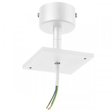Основание потолочного светильника с регулировкой направления света Lightstar Rullo 590216, белый, металл