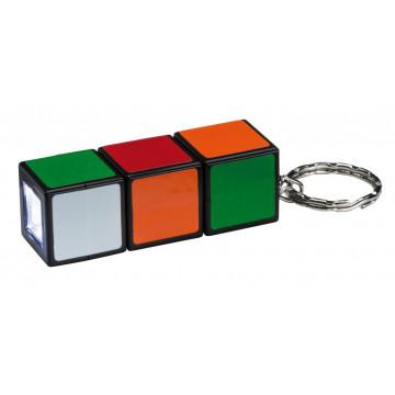 Брелок с фонариком Paulmann Magic Cube 78967, LED 0,3W, разноцветный, пластик