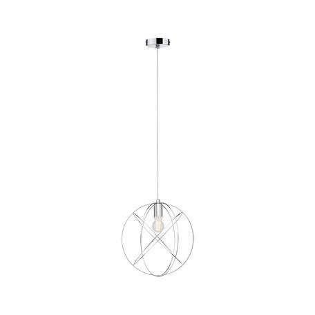 Подвесной светильник Paulmann Galacta 70892, IP44, 1xE27x20W, хром, металл