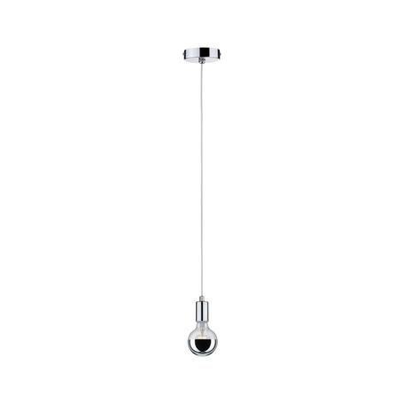 Подвесной светильник Paulmann Pendullum IP44 70894, IP44, 1xE27x20W, хром, металл